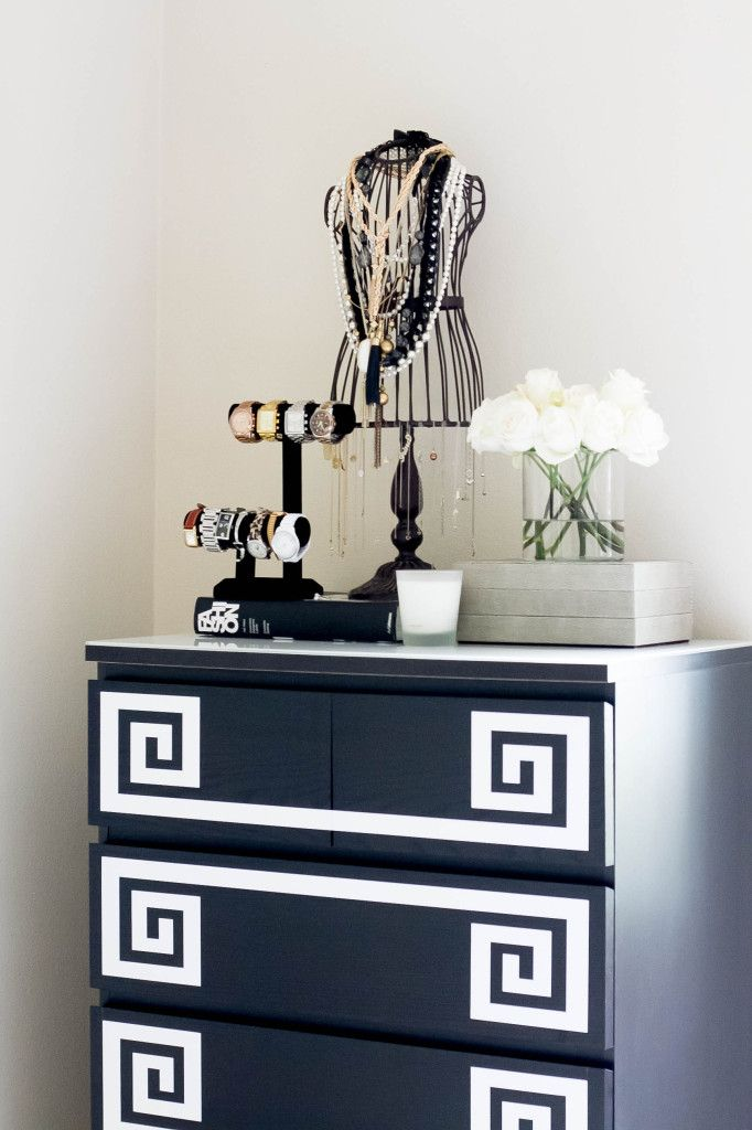 How To Diy Greek Key Dresser Feng Shui Ikea