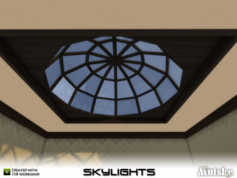Skylights There Are Several Different Types Of Skylights In This Set Use Bb Moveobjects To Place The Skylights Also 3 Skylights To Skylight Sims 4 Chesham