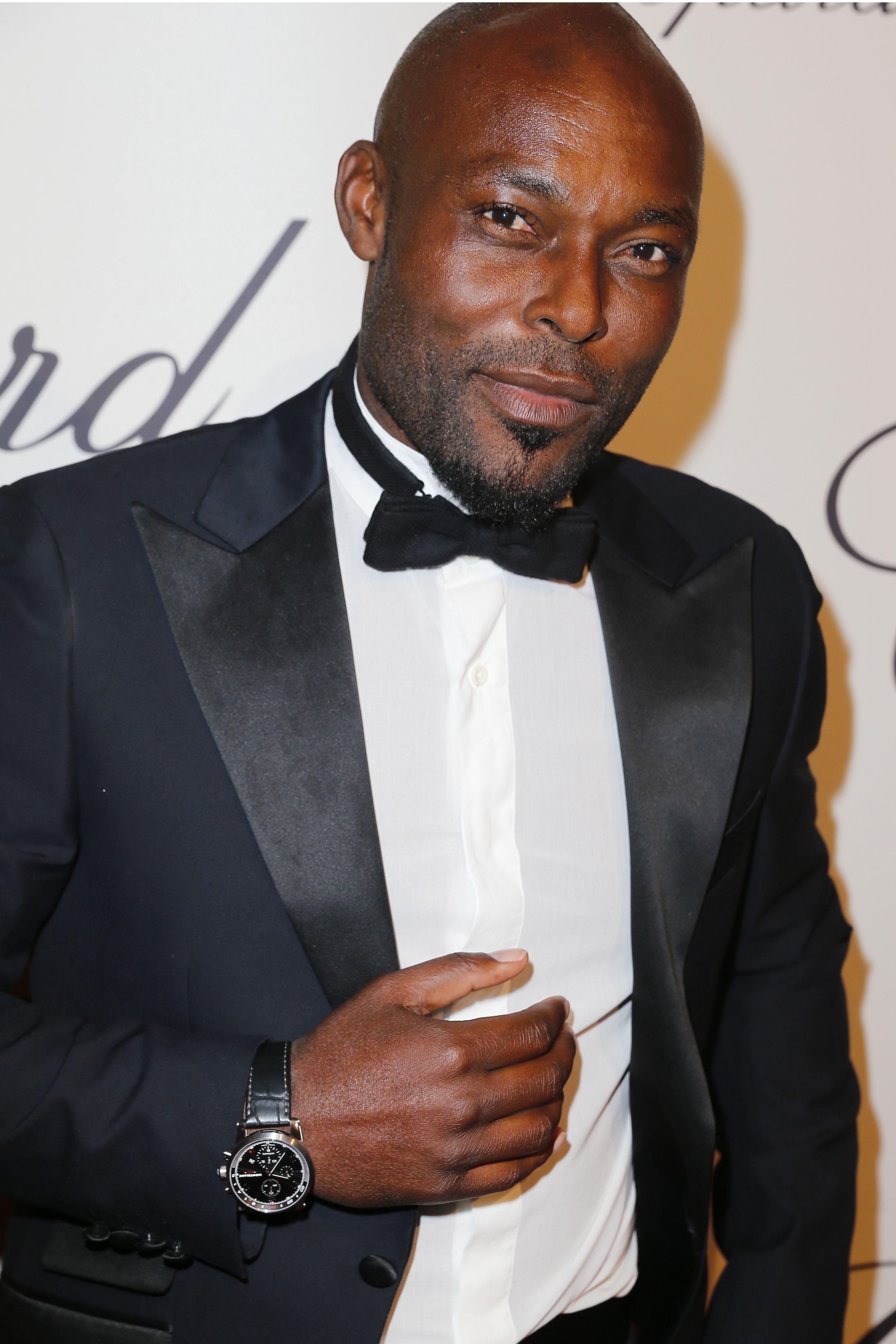 Actor Jimmy Jean Louis wearing Montblanc Timewalker
