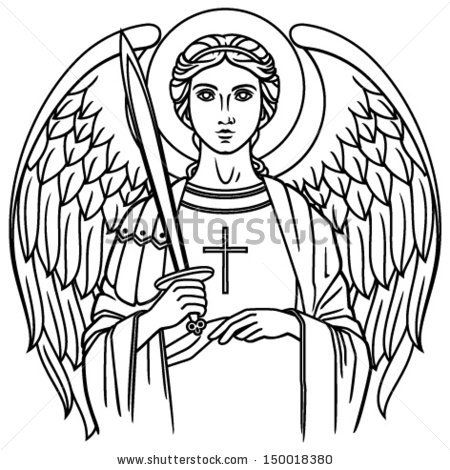 st michael the archangel drawing - Google Search | Steubie Tshirts ...