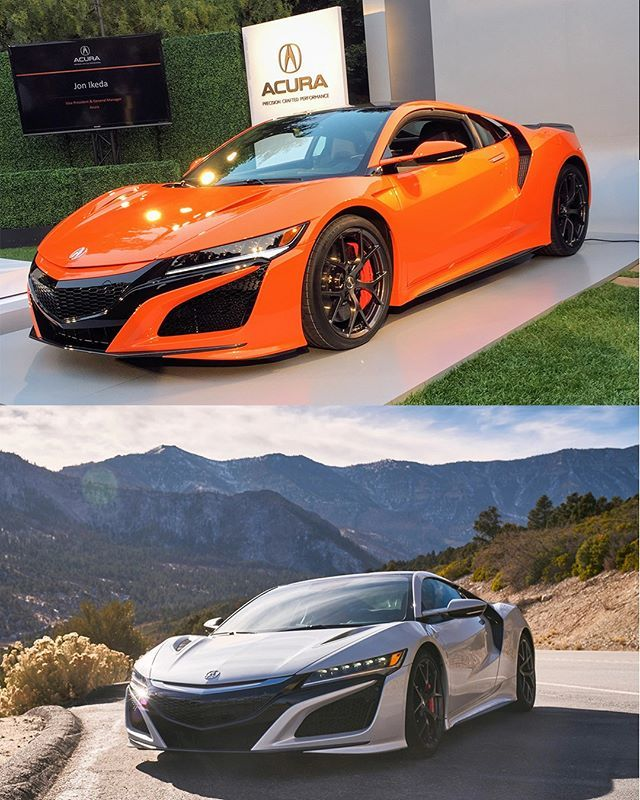 The Acura NSX Just Received A Refresh For The 2019 Model