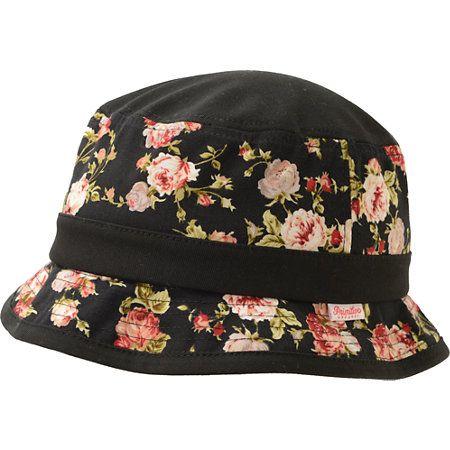 5d5f00df356f4 Primitive Black   Roses Bucket Hat