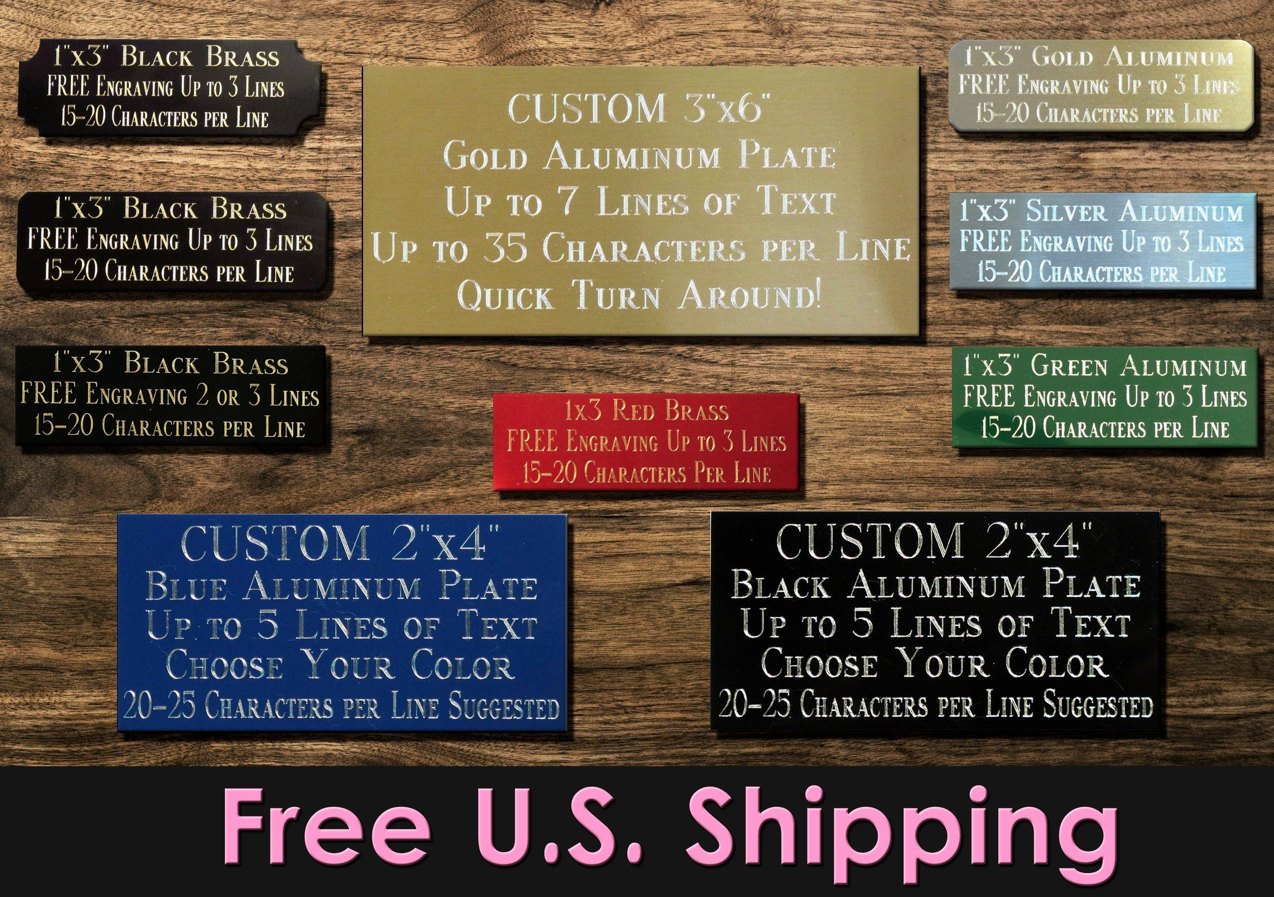 Engranving metal,Trophy engraving,Personalized plaque,plaque