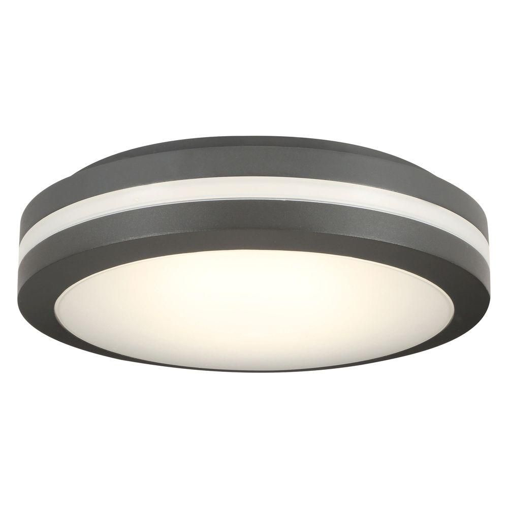 Lithonia Lighting Bronze Outdoor Integrated Led Decorative Flush Mount Olcfm 15 Ddb M4 The Home Depot Ceiling Lights Porch Ceiling Lights Modern Outdoor Ceiling Light