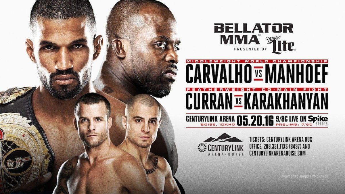 Betting Odds For Bellator 155 Rafael Carvalho Favored Over Melvin Manhoef Ufc News Mma Ufc