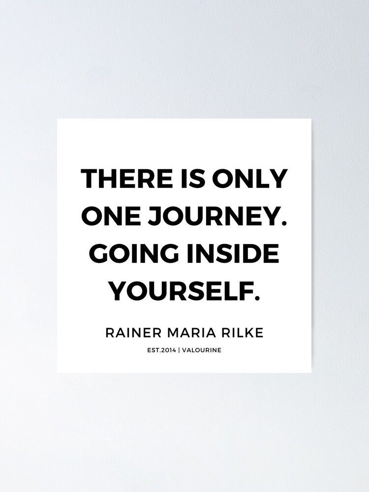 82  | Rainer Maria Rilke Quotes  Poster by QuotesGalore