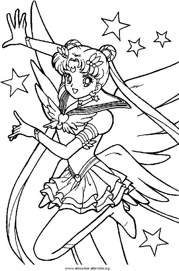 Disegni Da Colorare Sailormoon Carer Stuff Pinterest Sailor