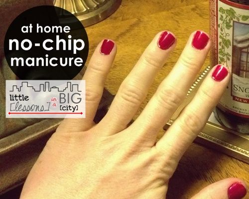 Step By Diy At Home No Chip Manicure Tutorial Using The Sensationail Kit Llinabc