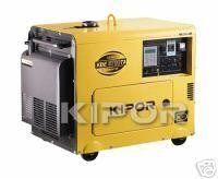 Kipor Kde6700t Silent Diesel Generator Diesel Generator For Sale Generators For Sale Diesel Generators