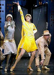 Sutton Foster In Thoroughly Modern Millie Broadway Costumes Sutton Foster Tony Awards