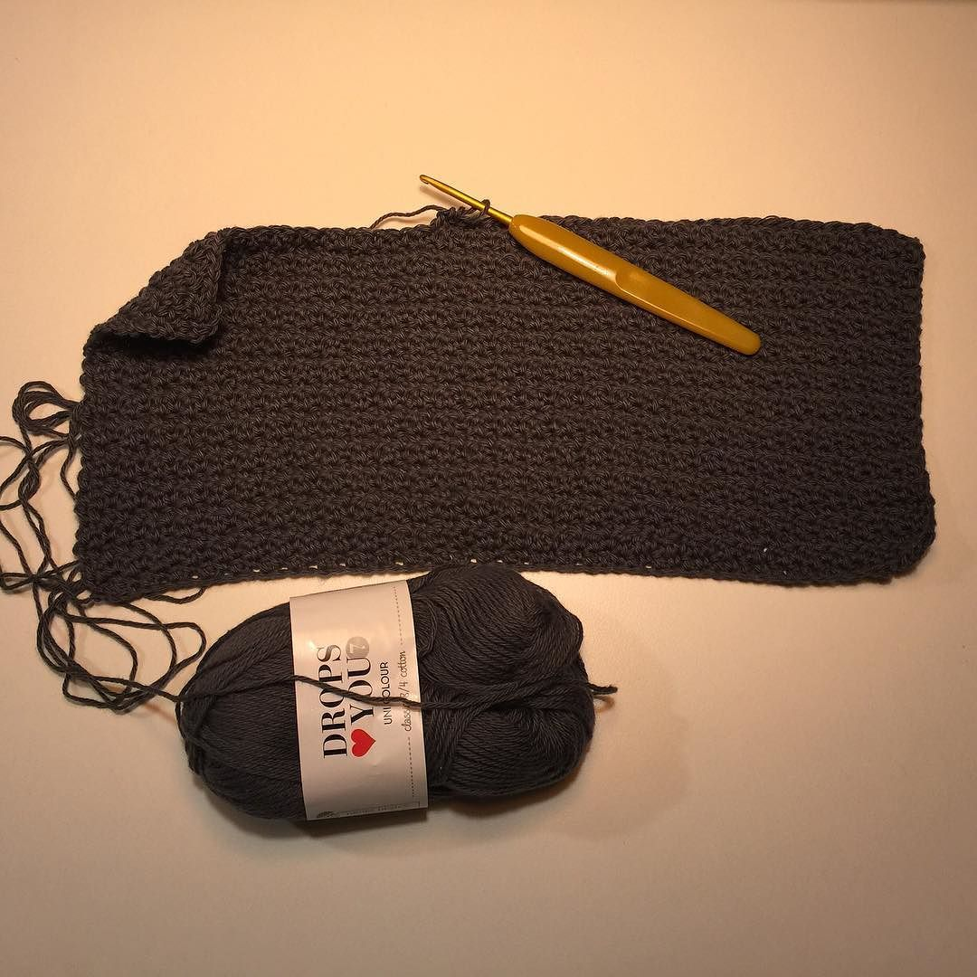 Lidt grums på nålen God aften #hækl #hækle #hækling #hækletid #hæklerier #crochet #crochetlove #crochetaddict #haken #häkeln #instacrochet #ilovecrochet #12moc2016 #12monthsofcrochet2016 #clover #drops #garn #yarn #yarnlover #bomuld #cotton #handmade #håndlavet #handarbejde #hobby #grums #haveaniceevening by laerkemortensen1
