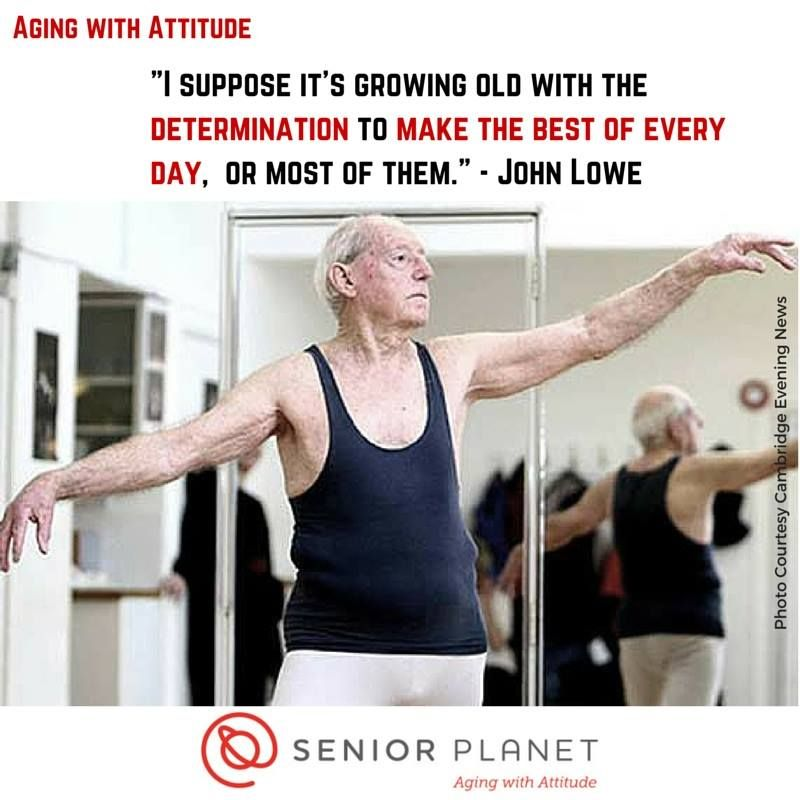 Aging With Attitude: Ballet Dancer John Lowe