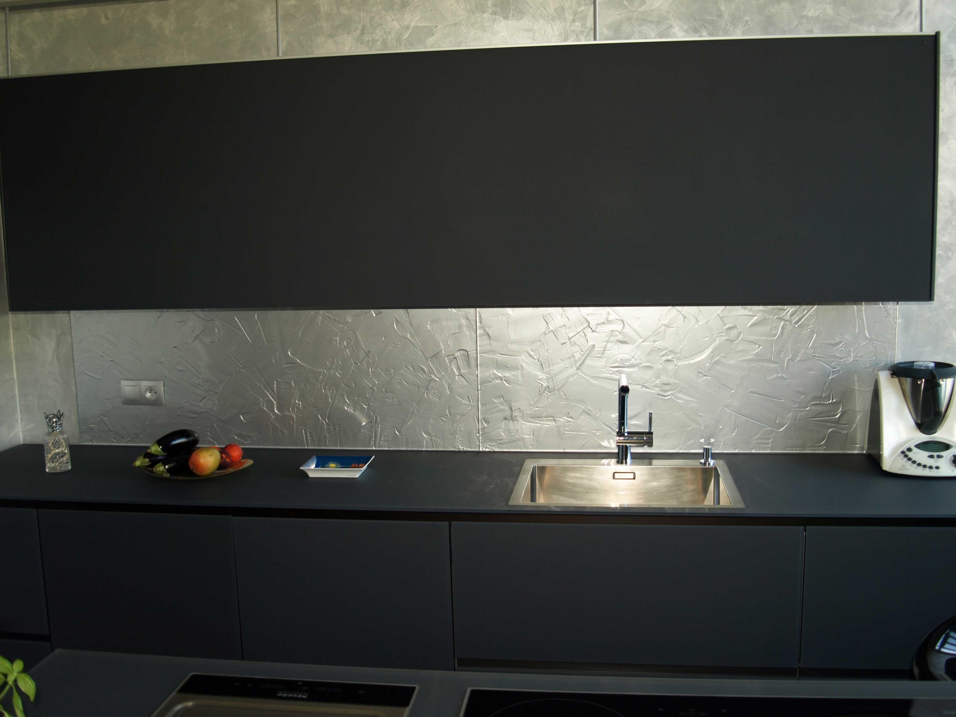 Küchenrückwand modern | Küchenrückwände aus Schmelzglas | Pinterest ...