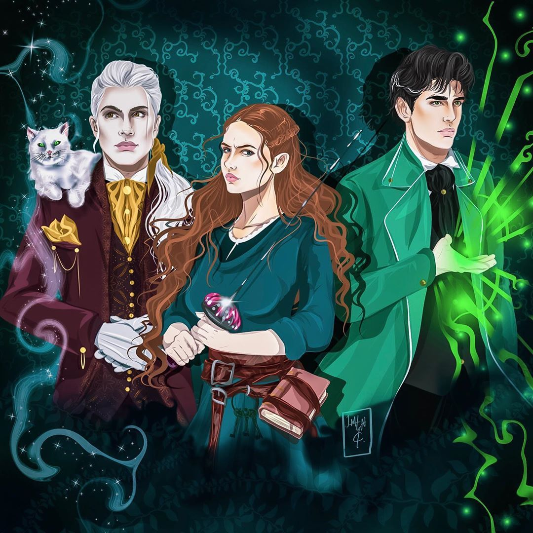 """JEMLIN CREATIONS on Instagram: """"Sorcery of Thorns characters ..."""