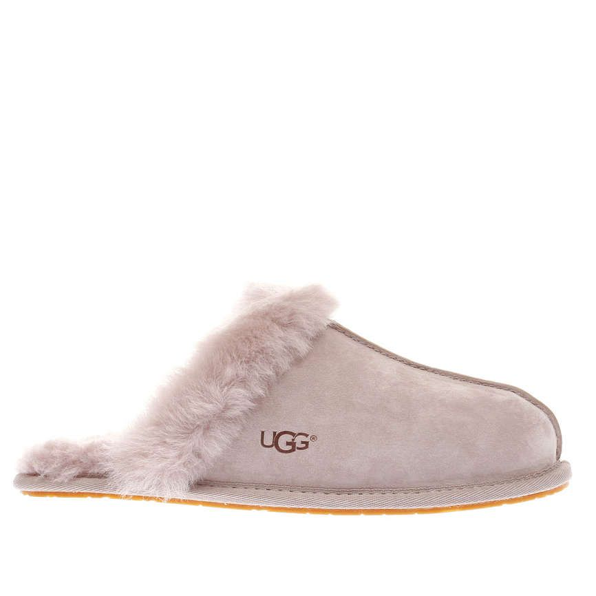 Womens Pale Pink UGG Scuffette Slippers   schuh