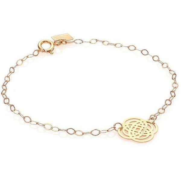Ginette NY Purity 18-karat rose gold bracelet NAhO9vH