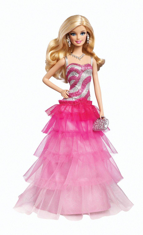 Barbie - Vestido de gala Ruffle (Mattel BFW18): Amazon.es: Juguetes ...