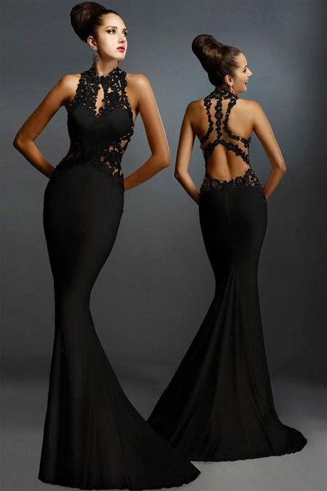 Vestiti Eleganti Lunghi Neri.Vestiti Lunghi Eleganti Neri Stile E Bellezza Vestiti Abiti