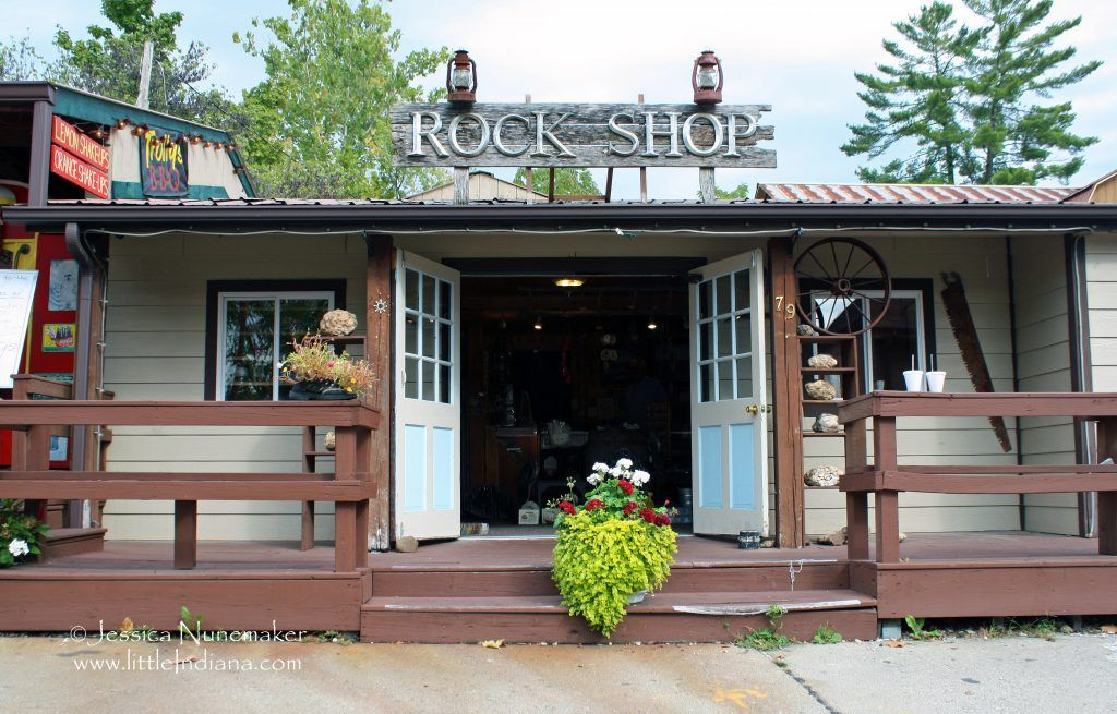 Brown county rock and fossil shop in nashville nashville