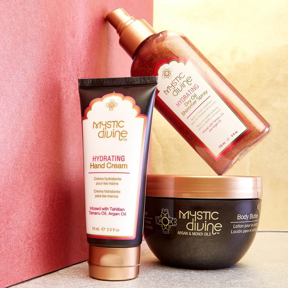 Mystic Divine Body collection is the perfect trio for