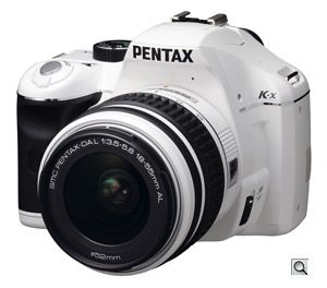 I ♥ my Pentax Kx, it matches my car and my winter legs