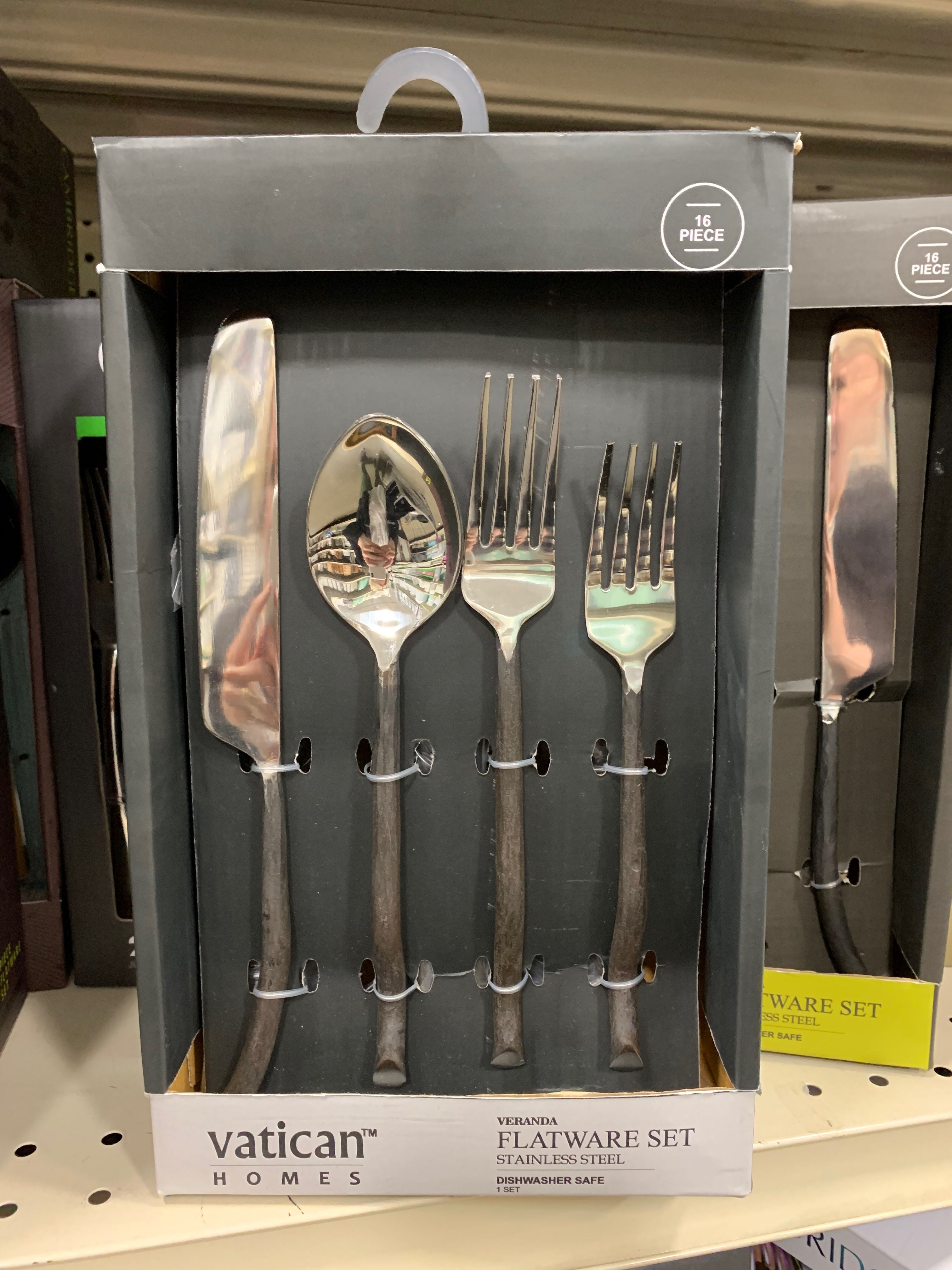 50 At Home Goods Steel House Flatware Set Home Goods