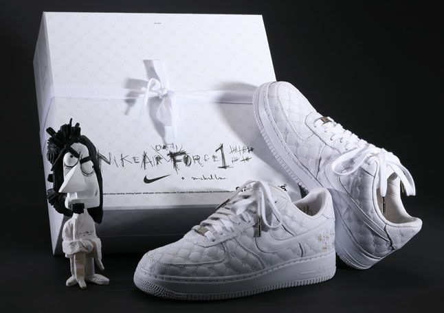 tout neuf b70d6 96fb0 nike air 'crazy' force - straitjacket/padded room inspired ...