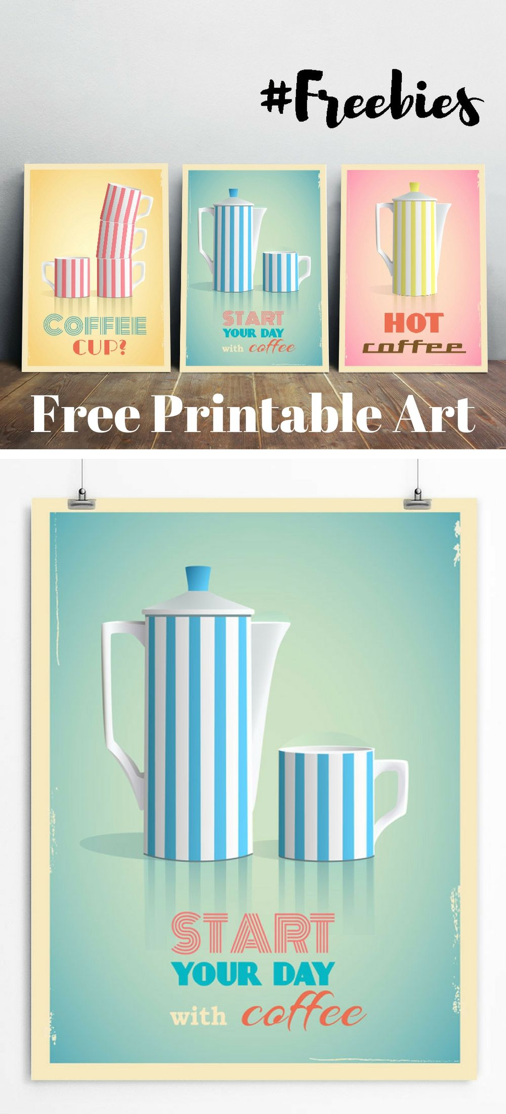 Download Free Wall Art Printables. Use them to decorate your kitchen ...