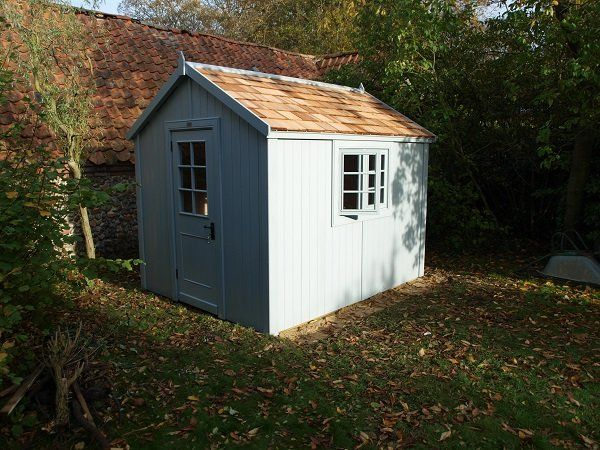 Garden Sheds 9 X 7 range - the posh shed company | garden-details and examples of how