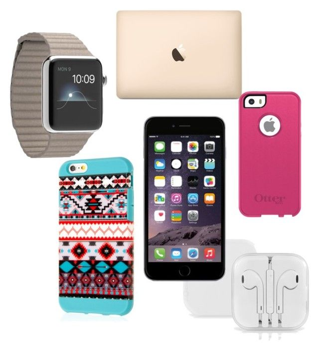 """""""Apple or nah"""" by klalewis ❤ liked on Polyvore featuring arte"""