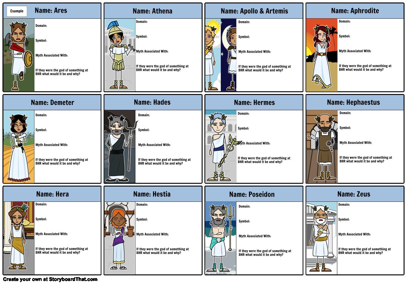 Image Result For Greek Gods