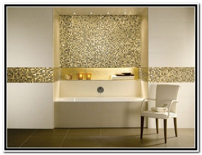 Exceptional Mosaic Bathroom Wall Tile Ideas