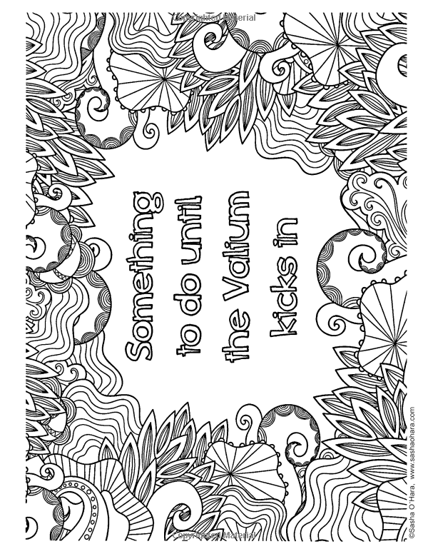 Amazon Com Calm The Fck Down An Irreverent Adult Coloring Book