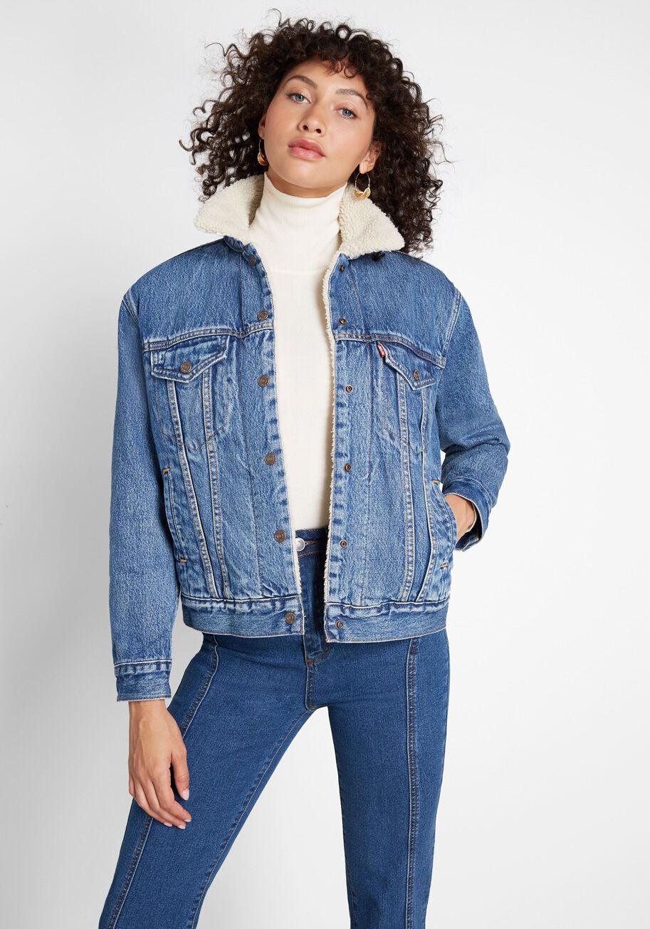38++ Levis made crafted fleece trucker jacket ideas in 2021