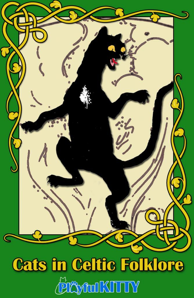 Celtic folklore is full of culture rich stories! The Cait Sidhe (aka Cait Sith) is both a cat and a fairy that will enrich the fantasies of both children and adults.