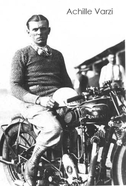 pilota motociclistico e automobilistico nato a Galliate nel 1904 morto sul circuito di Bremgarten(Svizzera)  nel 1948