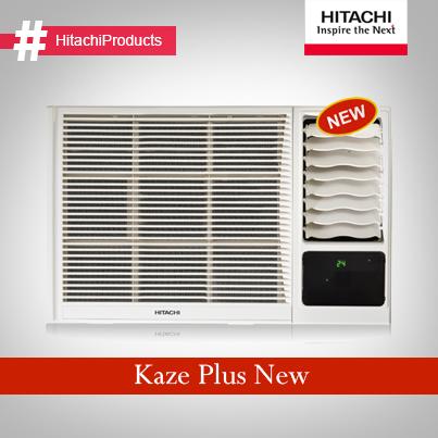 Hitachi Kaze Plus New AC perfect for multi storied small