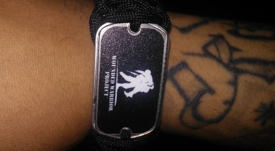 Regular Survival Bracelet Wounded Warrior Project