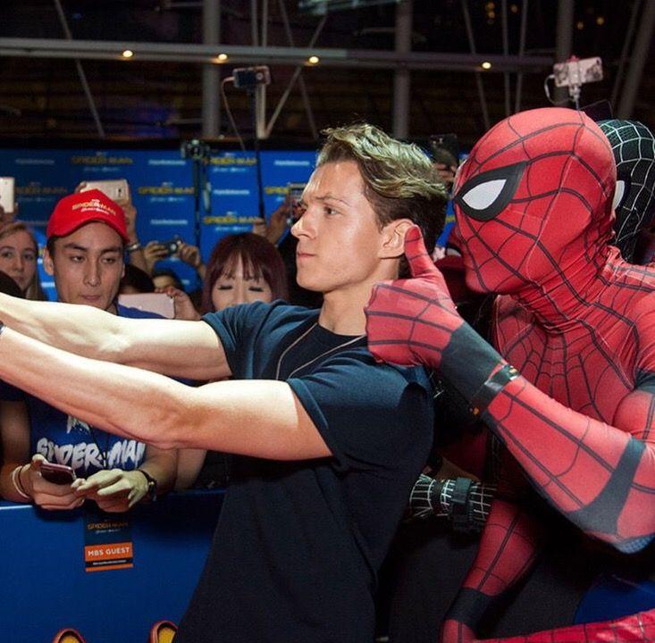 Tom Holland   Spiderman   Spider-Man Homecoming  