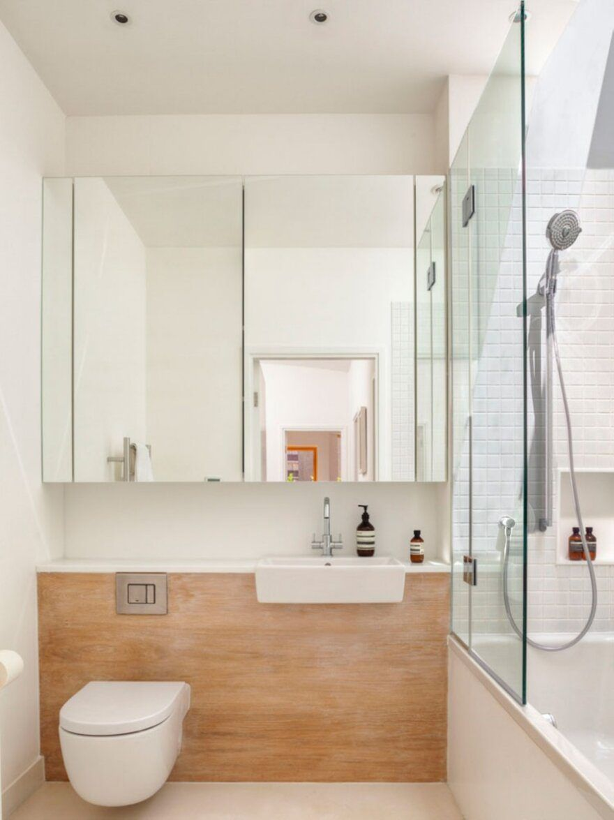 25 Small Bathroom Remodeling Ideas Creating Modern Rooms To Increase Home Values Small Bathroom Remodel Small Bathroom Bathrooms Remodel