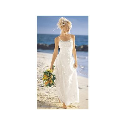 Casual Tropical Wedding Dresses