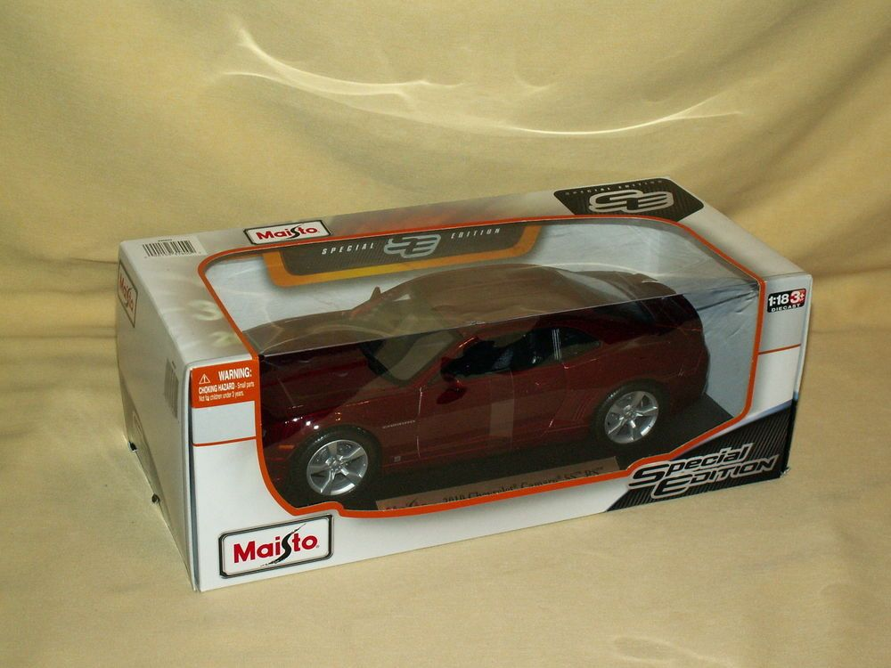 Chevy Camaro 2010 SS RS Maisto Special Edition 1:18 46629 2013 ...