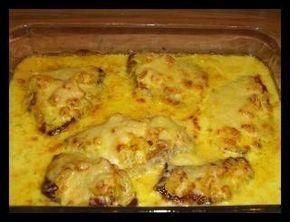Schnitzel mit Ananas und Käse überbacken in Curry-Sosse #grilledporksteaks