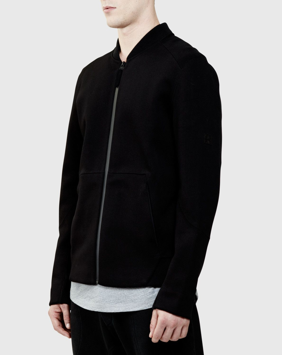 ISAORA nailed it with this one. It looks so tactical! Seam Sealed Bomber Jacket | ISAORA