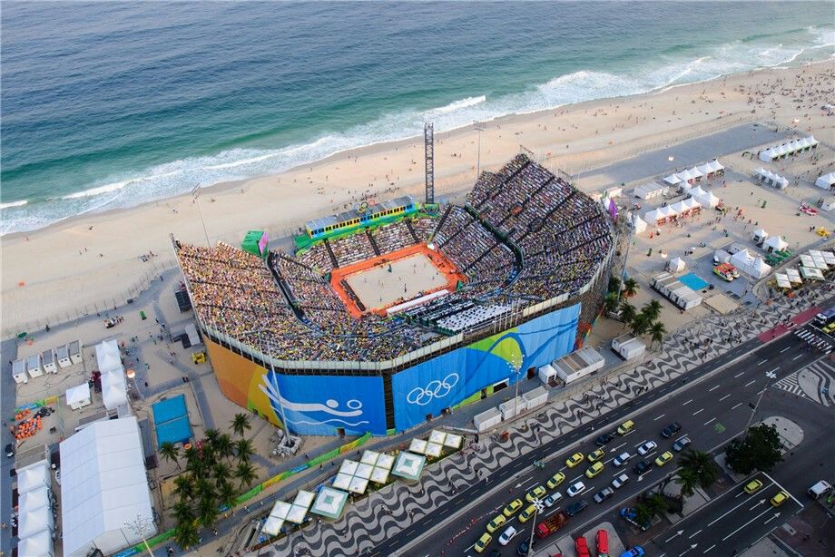 Copacabana Stadium At Rio 2016
