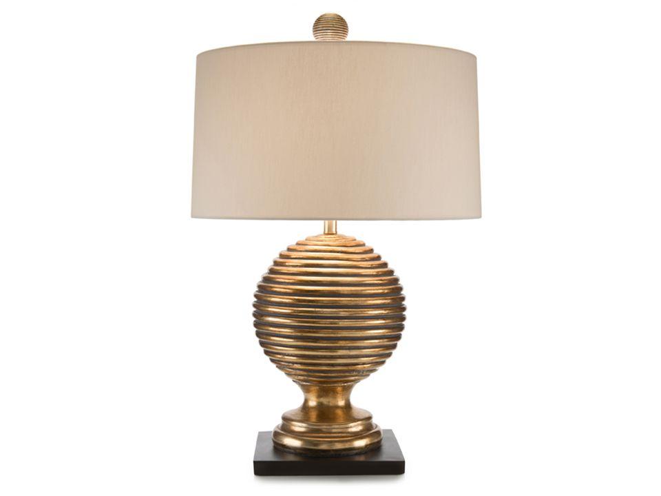 John Richard Golden Rings Gold Table Lamp Ping
