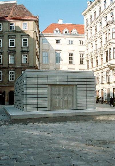 Rachel Whiteread - Holocaust Memorial, 1995-2000, Vienna