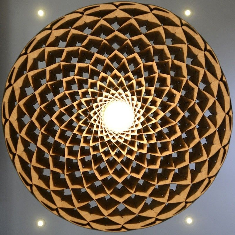 (pic 2 Of 2) Nest Pendant Lighting Fixture   Pays Homage To Honeycomb  Architecture
