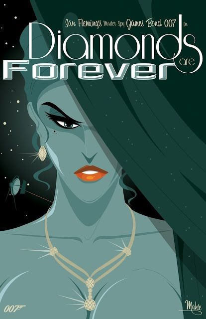 Diamonds are Forever - Mike Mahle § Find more artworks: www.pinterest.com/aalishev/pins