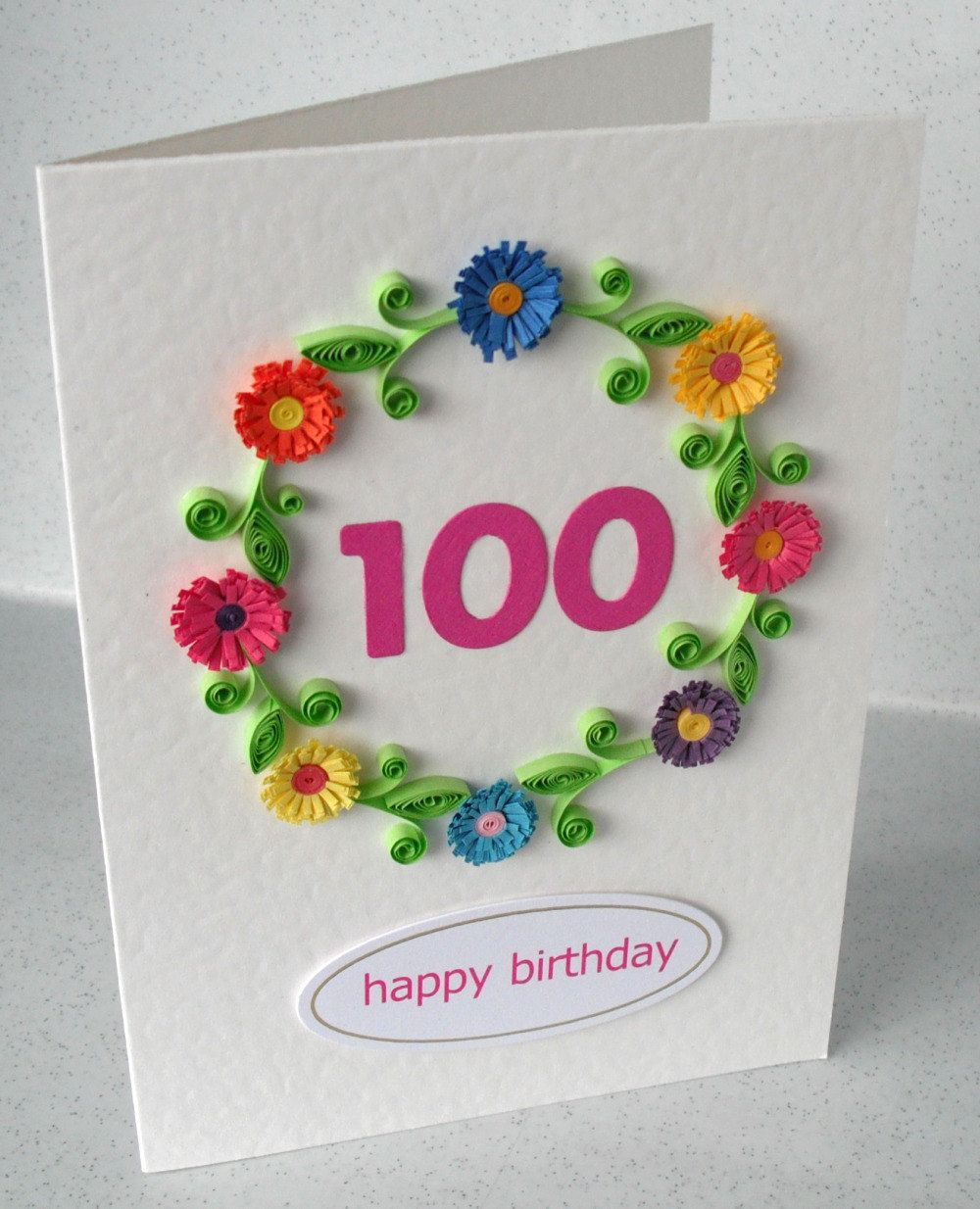 Simple And Beautiful Birthday Cards Images 100th Birthday Card Birthday Cards For Women